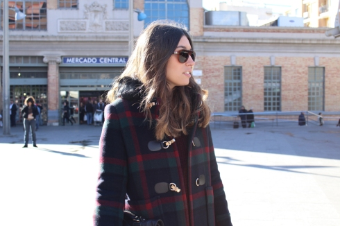 themusthave blog checkered duffle coat 2