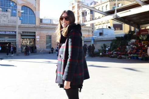 themusthave blog checkered duffle coat 3