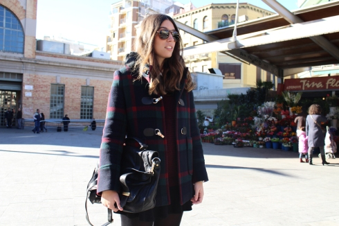 themusthave blog checkered duffle coat 7
